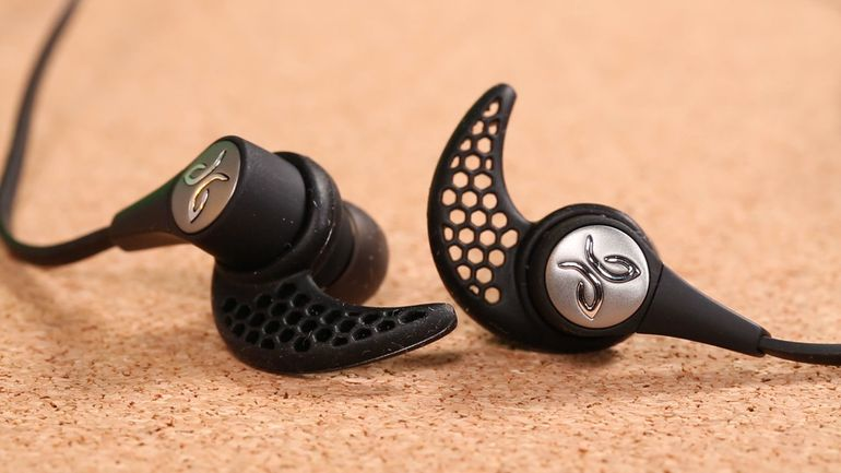 Jaybird X3 earbuds close up