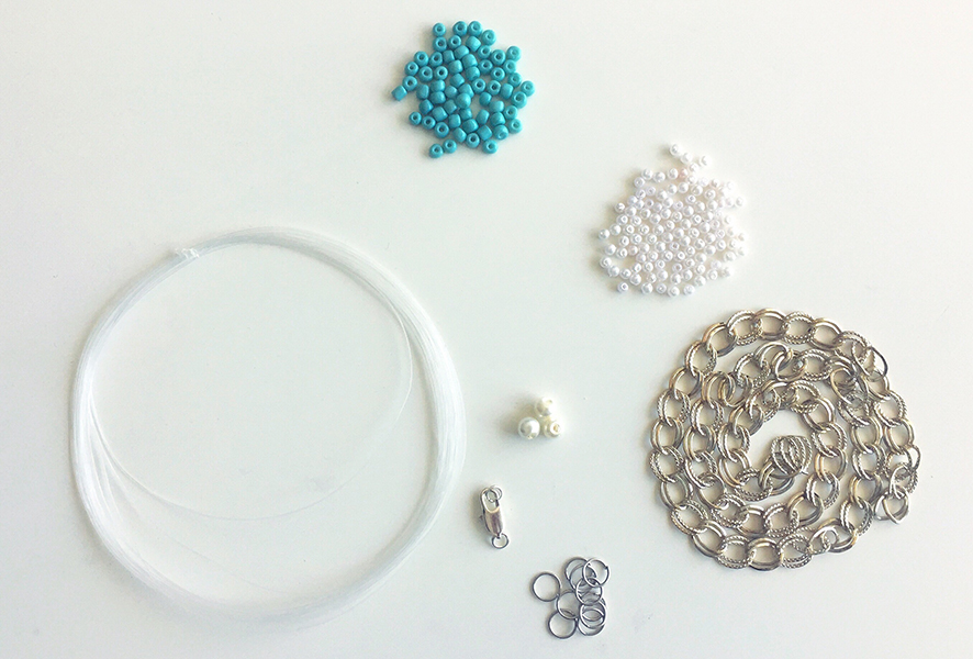 Materials required for DIY Bracelet