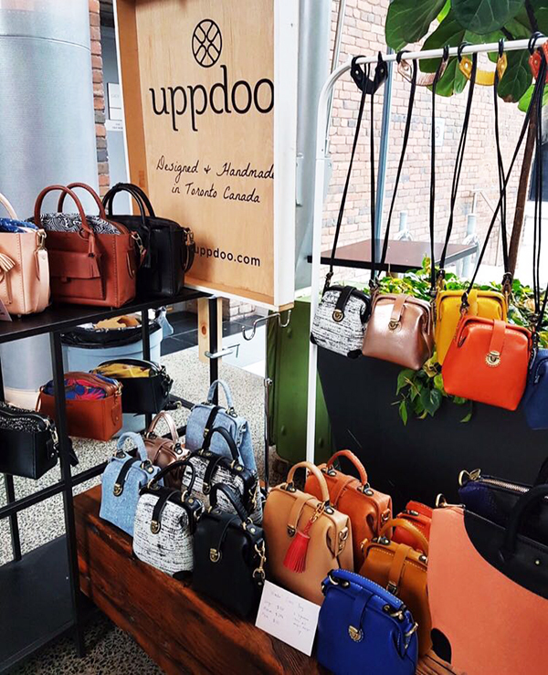 Uppdoo handmade leather bags toronto