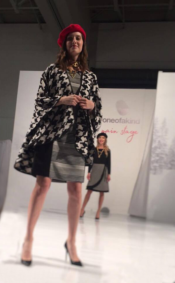 Canadian fashion show at the One of a Kind Show