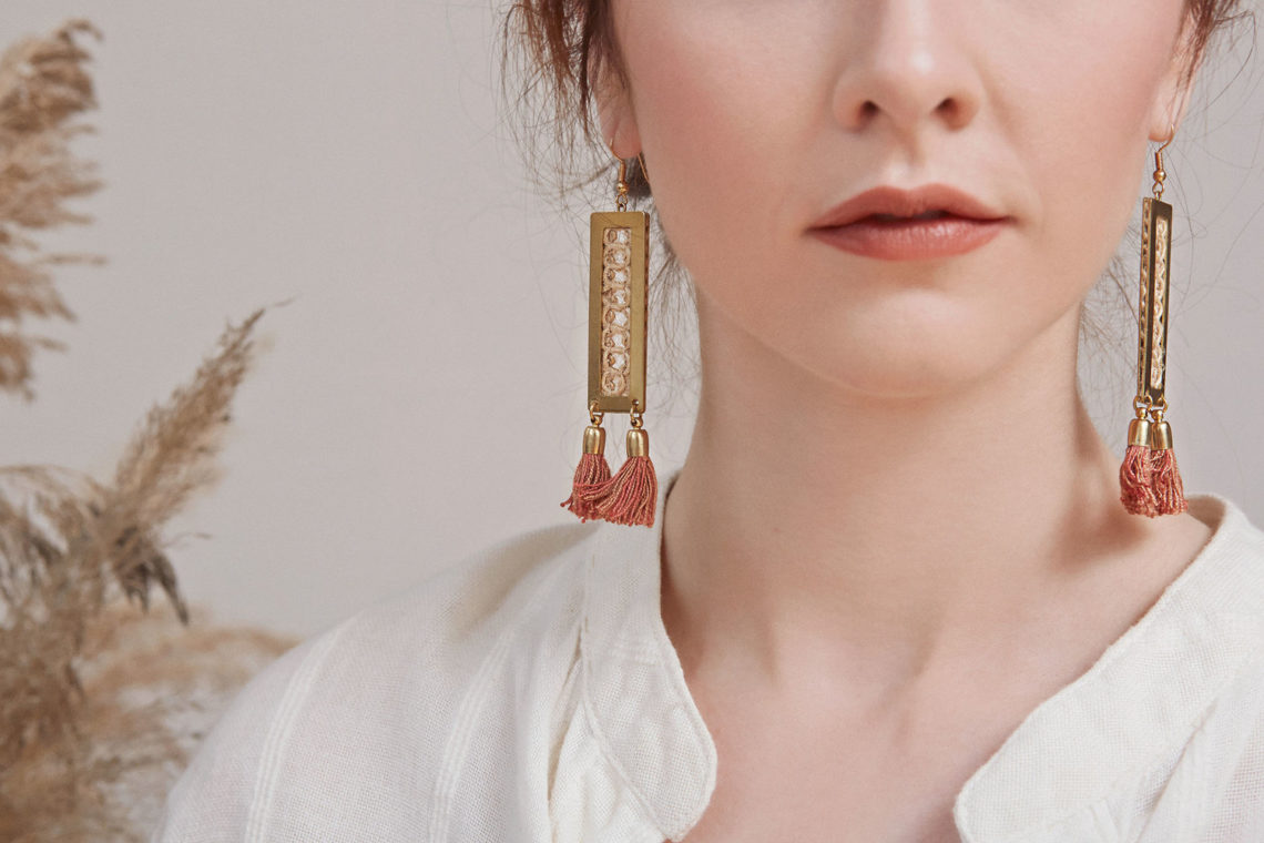 Sustainable Jewelry This Ilk Earrings