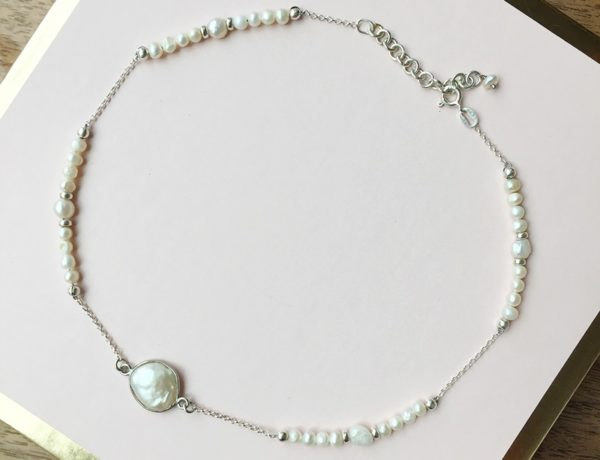 Making Jewellery As A Self-care Practice - Pearl Necklace By Aiyana Jewelry