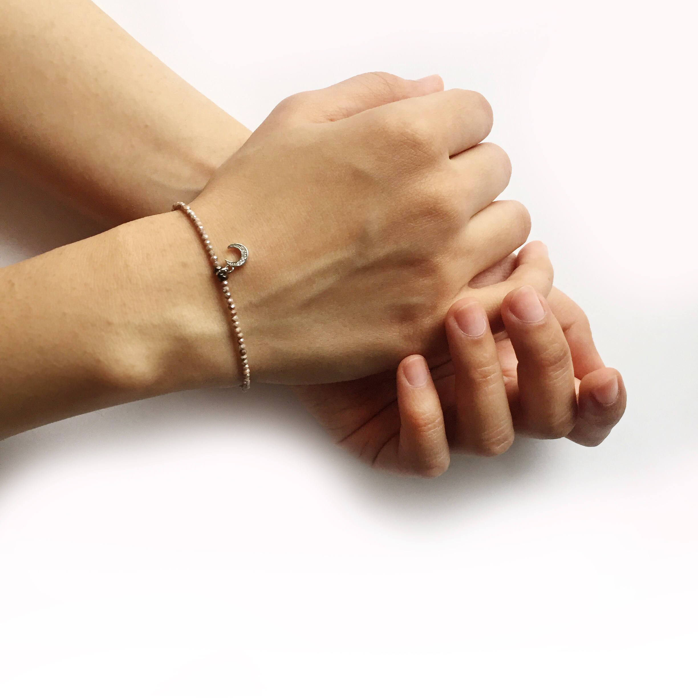 Making Jewellery As A Self-care Practice - Stone Bracelet by Aiyana Jewelry