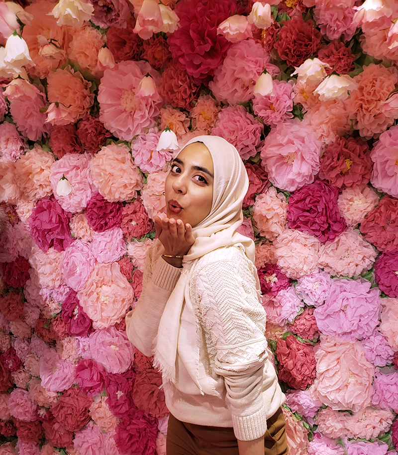 The7TO Toronto's Newest Instagram Spot - Floral