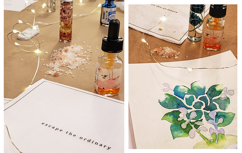 Creating Meaningful Connections At Watercolour Workshop By Her People