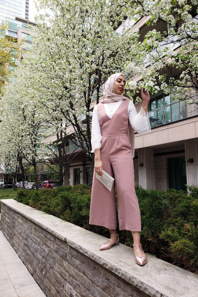 Pink Jumpsuit Eid Outfit