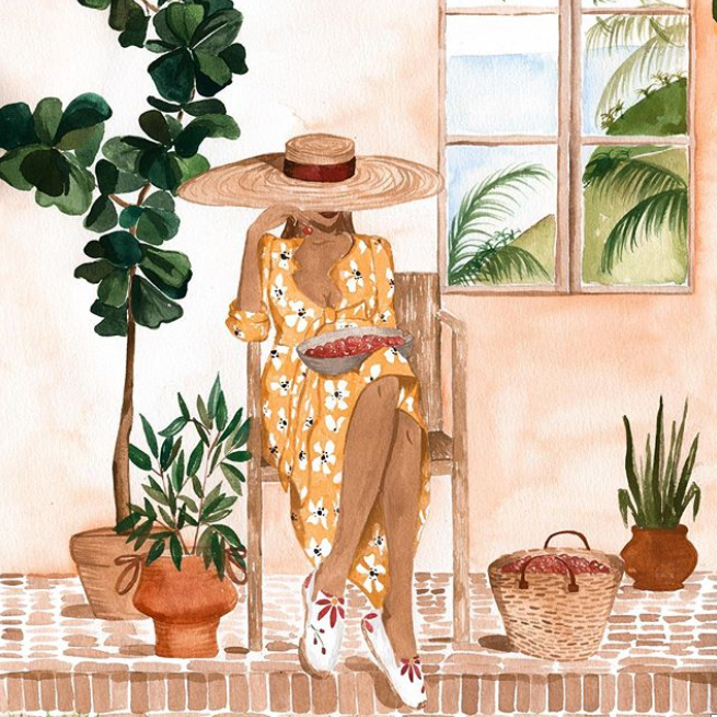 Sabina Fenn Illustrator Artist Print Side Hustle to Business