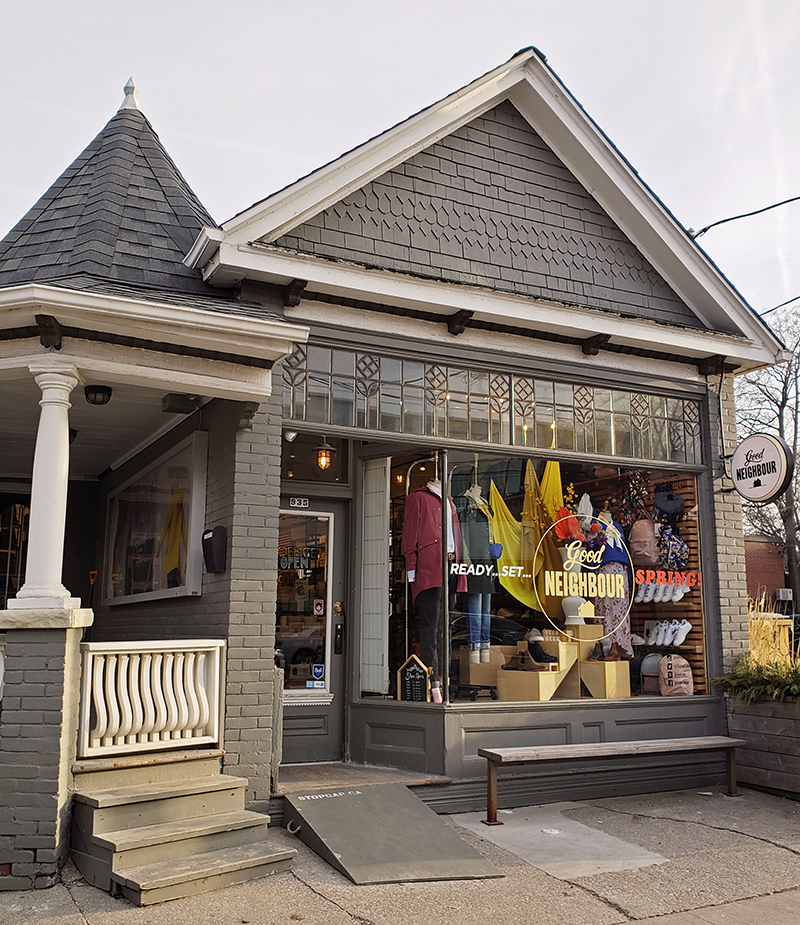 Good Neighbour gift shop in Leslieville Toronto