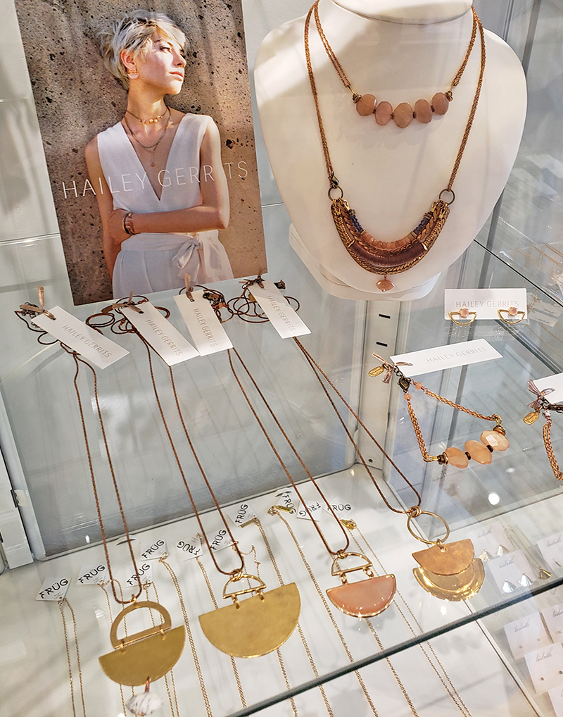 Handmade jewelry by Hailey Gerrits Vancouver