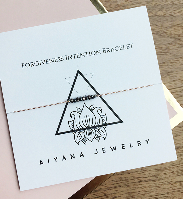 Making Jewellery As A Self-care Practice - Intention Bracelet by Aiyana Jewelry